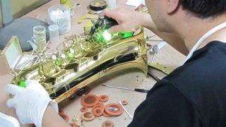 トロンボーン修理 管楽器修理